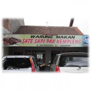 Sate Sapi Pak Kempleng