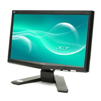 review monitor lcd acer x163wl