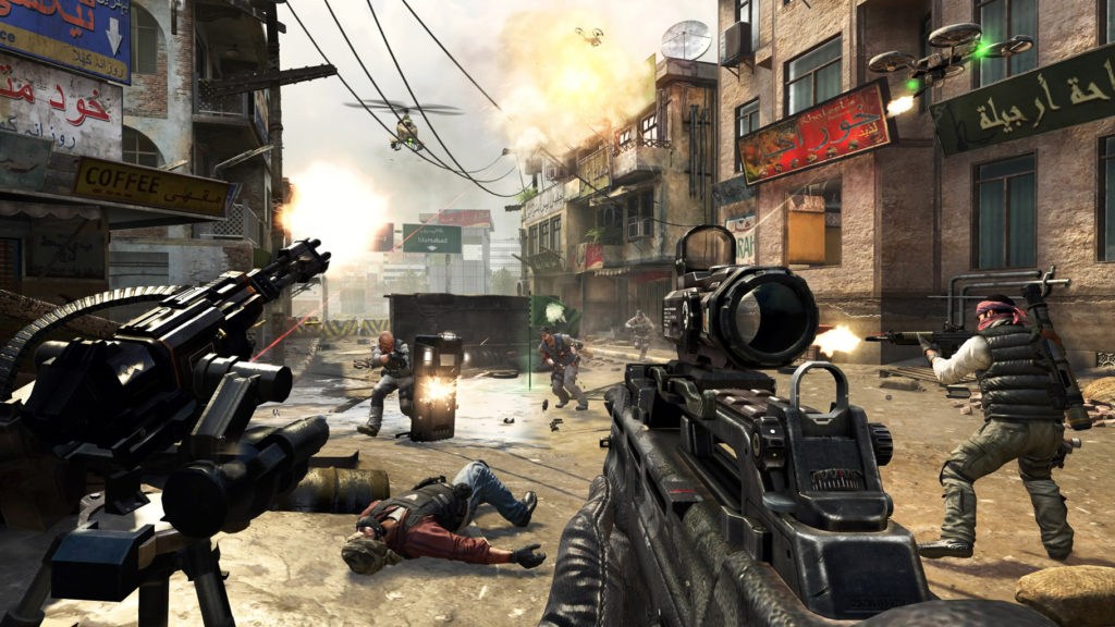 Screenshot dari game Call of Duty 4: Modern Warfare