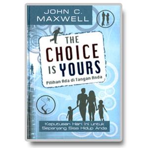 review buku motivasi The Choice is Yours: Pilihan Ada di Tangan Anda