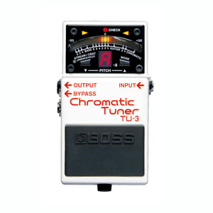 BOSS TU-3 (Chromatic Tuner)